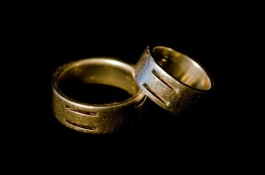 ring-rings-couple-small-big-male-female-silver